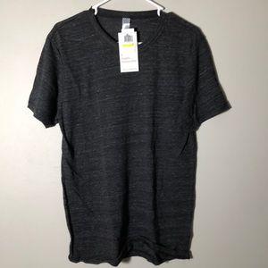 Alternative Apparel dark grey crew neck tee shirt